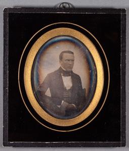 Portrait of Gustaf Fredrik Geitel (1821-1888).