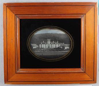 France. Daguerréotype, 1/4 de plaque,  7,4 x 10 cm