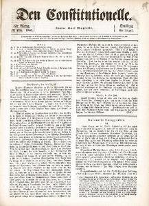 Donnè angaaende Daguerres nyeste Forskninger (efter J. des Debats)