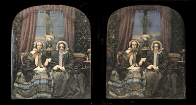 Coloured daguerreotype