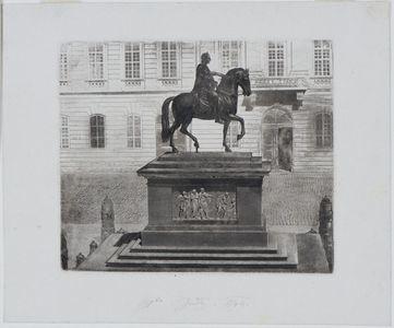 Equestrian sculpture, Joseph II memorial, Josefsplatz, Vienna