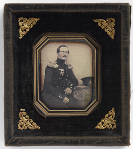 Portrait of amiral Anton Erik Scheele.