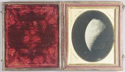 Image of the moon. Attributed to John Adams Whipple
