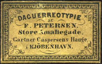 F. Petersen