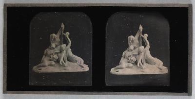 France. Daguerréotype stéréoscopique,  6,9  x 5,6 cm (chaque image)