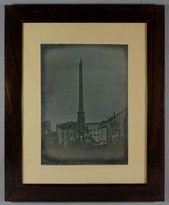 Rome. Piazza Navona, Obelisk