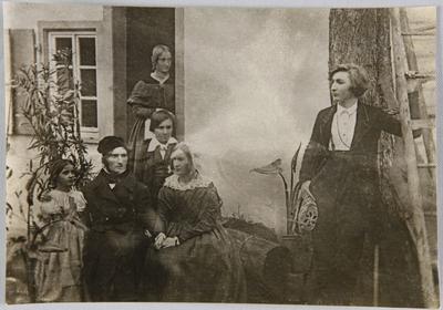Die Originaldaguerreotypie verbrannte 1944 im Darmstädter Liebig-Museum.