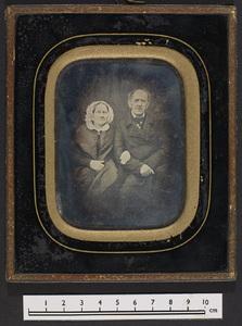 Physikus Justitsraad Johan Samuel Henning og hustru