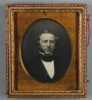 Etats-Unis. Daguerréotypes, 1/6 de plaque, 6,2 x 5 cm (chaque image). Deux daguerréotypes dans un étui.