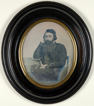 portrait of man, presumably Mr. Vigarosi