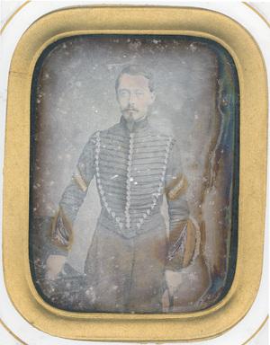Image 9 x 7 cm; Cadre 23,4 x 20,5 cm; Fenêtre 14 x 11,5 cm