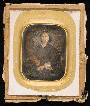 Portrett av en ung kvinne