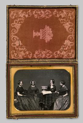 Half plate daguerreotype