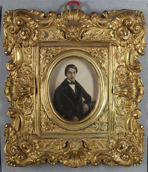 France. Daguerréotype, 1/6 de plaque, 7,5 x 6 cm