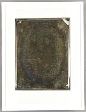 Die Platte ist neu verglast. Die Maße beziehen sich auf die ursprüngliche Passpartierung. Passepartout und Rückseite sind noch erhalten.