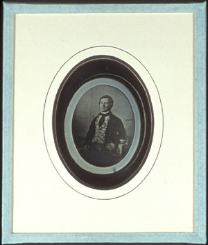 Reproduction of a daguerreotype depicting Mr. Lodewijk Asser