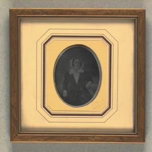 Portræt af Marie Antoinette Berg f. Nielsen
