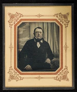 Portrett av mann. Portrait of man.