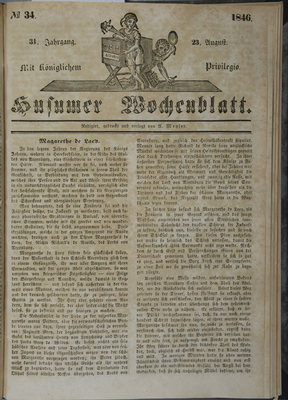 Anzeige des Daguerreotypisten C. Claussen