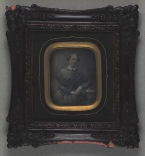 Portræt af Hansine Elisabeth Møller