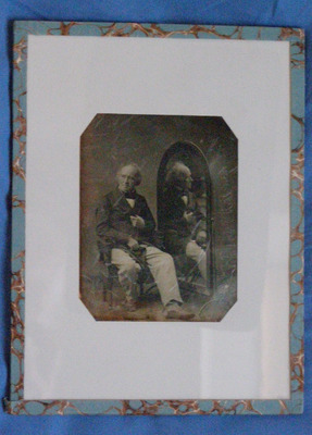 The daguerreotype is in good condition of conservation
