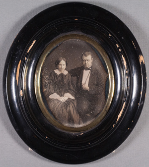 Portrait of Consul John Julin (19.2.1827-24.4.1898) and his wife Emelie b. Skogsberg (19.12.1824-2.5.1870).