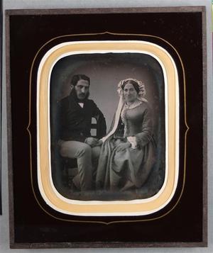 France. Daguerréotype, 1/4 de plaque, 11,4 x 8,7 cm