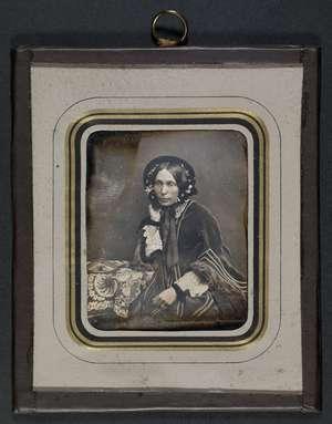 Portræt af Louisa van Dockum