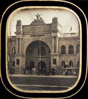 Palais Industrielle Paris  Exposition Universelle Paris
