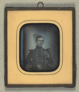 Portræt af Edouard Gustav Gotschalk