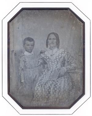 Image 9,3 x 7 cm; Cadre 18 x 15,5 cm; Fenêtre 14,5 x 12 cm