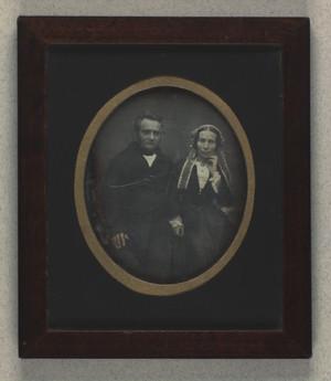 Dobbeltportræt af Fritz Gædecken og hustru