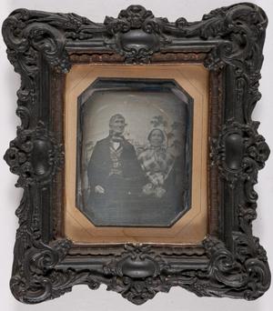 J. CH. Pasquier, agé de 84 ans et son épouse  en M. C. (L?) Delvaux agée de 64 ans Fleurus  2 xbre (octobre) 1847