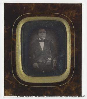 Portrait d'Emile Hugonin (grand oncle du donateur)