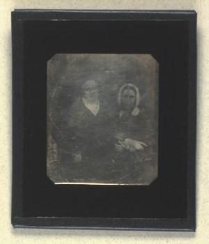 Dobbeltportræt af Behrend Heckscher og hans hustru Pauline