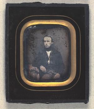 Portræt af Oluf Isidor Olsen