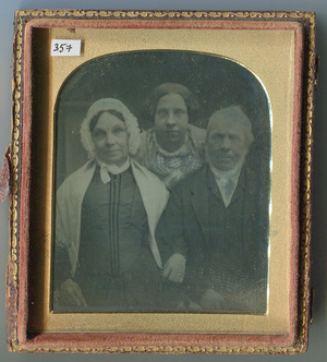 Mother, father and daughter (British Gothic).
