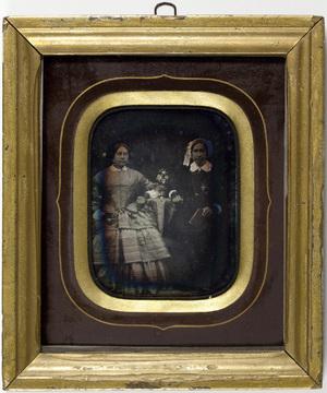 Portrait of two woman