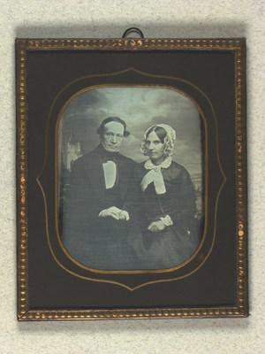 Dobbeltportræt af Diederich og Wilhelmine Hamann
