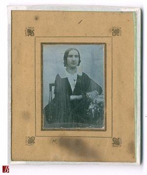 Ritratto di Eugenia Pallav [...] di anni 19 e mezzo figlia di Gaviola il giorno 14 ottore 1846