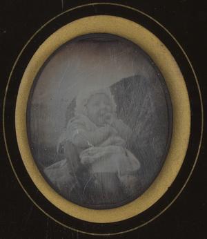 Image 7,5 x 6 cm; Cadre 13 x 11 cm