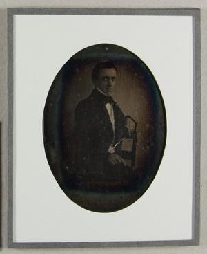 portrait Jonkheer Boudewijn Jacobus Ploos van Amstel