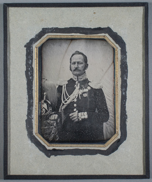 Portrait of general lieutnant Otto Blom (7.5.1798-3.4.1874).