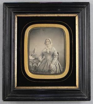 France. Daguerréotype, 1/4 de plaque, 9,4 x 7 cm