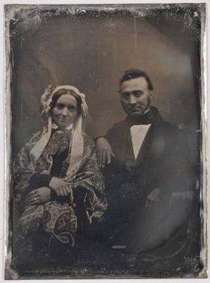 Mr. Antoine Dir... né le 11 mai 1811 son épouse Marie Anne Elisabeth Jans, né le 30 juillet 1818