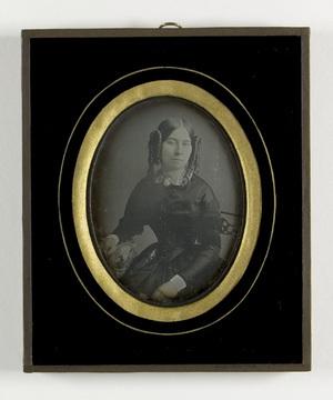 portrait of Matilda Amelie Lambert