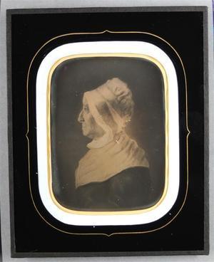 France. Daguerréotype, 1/4 de plaque, 18 x 14,5 cm (cadre)