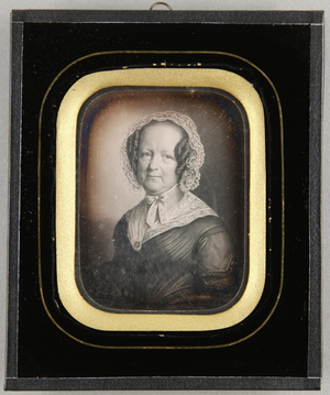 Johanna Friederike Wunderlich, geb. Brandt (20.12.1779-15.9.1863), Frau des Lübecker Bürgermeisters Th. G. Wunderlich