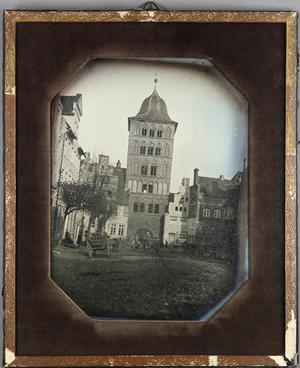 Stadtbild, Burgtor von der Stadtseite