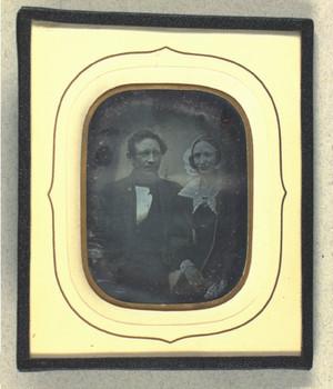 Dobbeltportræt af Johan Fr. Storck og hustru